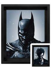 Batman Poster Arkham Origins Joker 3D Framed Lenticular 20x25cm