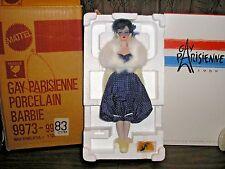 Barbie Gay Parisienne Porcelain Doll #9973, 1991 w/shipper, 1st in Series NRFB