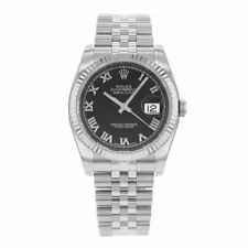 Rolex Stainless Steel Case Men's Analogue Wristwatches