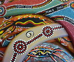 Boomerang Native Art