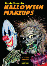 Basic How-To Halloween Makeups - 20 awesome makeups for kids instructional DVD