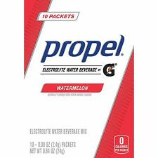 Propel Powder Packets Watermelon, Gatorade Electrolytes Hydration No Sugar 50 CT