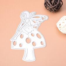 Metal Angel Mushroom Cutting Dies Stencil DIY Scrapbooking Embossing Paper Craft
