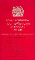 Royal Commission On Local Government In England, 1966-1969: Maps for Vol. 1