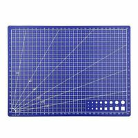A4 Grid Lines Cutting Board Mat Self-healing Pad Plate Sewing Craft 300x220mm US