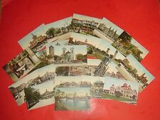 PCG455 Vintage LOT 21 Postcards Places Horse Drawn Wagons etc San Antonio Texas
