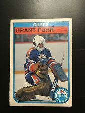 1982-83 O Pee Chee Rookie Grant Fuhr