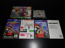 Mario Kart 64 Complete Nintendo 64 N64 Game CIB Luigi Yoshi Rare
