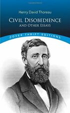 Civil Disobedience and Other Essays Dover Thrift Editions