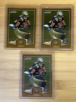 LOT OF 3 MARK INGRAM 2011 TOPPS BOWMAN CHROME RC #BCR-20 MINT! SAINTS TEXANS