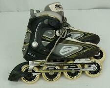 Roller Derby Lace Up Anti-Shock 950Zx Blaze Rolling Inline Skates Mens Us 9