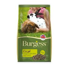 Burgess Excel Rabbit Nuggets with mint 10kg
