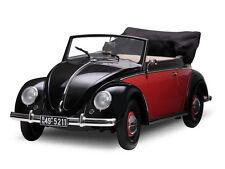 1:12 Sunstar 1949 Volkswagen Escarabajo CONVERTIBLE Negro- rojo / Negro