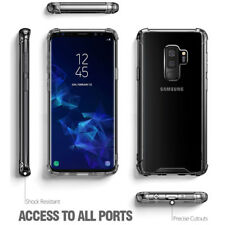 For Samsung Galaxy S9 Plus Soft Clear TPU Shockproof Case Cover