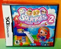 BRAND NEW Squinkies 2 Surprise Inside Adventure Mall Nintendo DS DS Lite 3DS 2DS