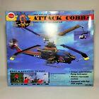 Vintage Cox Attack Cobra Free Flight Helicopter .049 Engine 1997 MODEL 4502