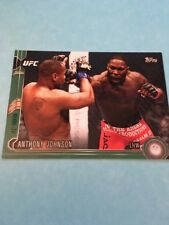 Anthony Johnson UFC 2015 Topps Chronicles Green #48  167/288