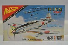 NOS Nichimo Kawasaki 1/70 KI-61-2 Hien Tony (Ki-61) Army Type 3-2 Fighter Model