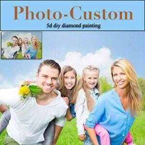 Personalized Photo Customized Round Square Diamond Rhinestone Embroidery Art Kit