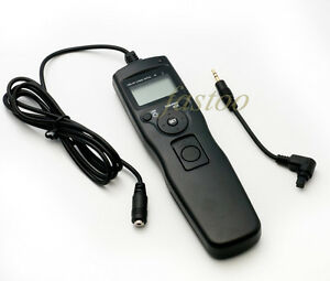 Time lapse intervalometer Timer Remote Shutter Release f Canon EOS 5D mark II