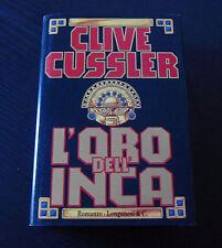 L'oro dell'Inca - Clive Cussler - Edizione Longanesi La Gaja Scienza -