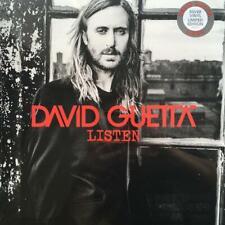 DAVID GUETTA – LISTEN LIMITED SILVER VINYL LP (NEW/SEALED)