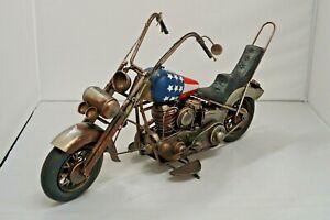 Vintage Americanflag Chopper replica motorbike collectible memorabilia decor toy