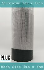 Expanded Aluminium Varroa Mesh Hive Beekeepers 42cm 10m Roll 0.8mm thickness