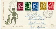 NETHERLANDS : CHILD WELFARE, FIRST DAY COVER (1962)