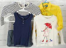 GAP KIDS OUTFIT LOT Dress Tank Top Graphic Tee Long Sleeve Shirt Girls 4-5 Fall