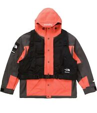 SUPREME The North Face RTG Jacket + Vest - Rocket Red - Size SMALL GORETEX