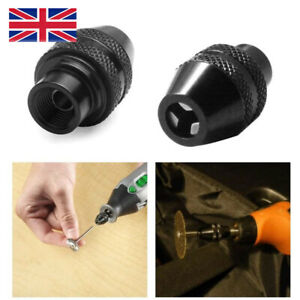 Multi Chuck Quick Change Adapter Drill Bit For Dremel Rotary Accessories Tool UK