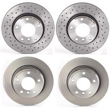 Brembo Front Rear Brake Disc Rotors Coated Kit for BMW E36 318i 323is 325i 328is