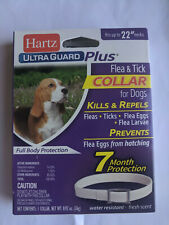 4 Pack Hartz UltraGuard Plus Flea Tick Dog Collar - Puppies - Water-Resistant