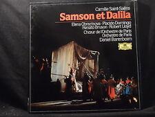 C. Saint-Saens - Samson et Dalila / Barenboim   3 LP-Box