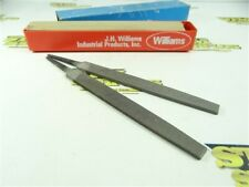 """PACK OF 12 NEW-OLD STOCK WILLIAMS 6"""" FLAT 2ND CUT FILES"""