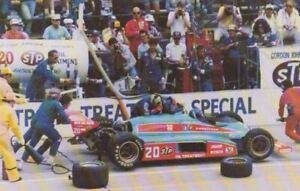 1982 Gordon Johncock STP Indy 500 Win Indy Car Promo Card #4