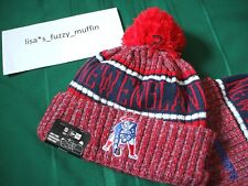 23afa909e9b New England Patriots New Era knit pom hat beanie 2018  RARE throwback  AUTHENTIC!