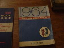 1964 buick body Service Manual, taller de mano libro, ORIG. gm, todos los modelos, Engl. texto