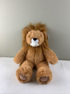 """Vermont Teddy Bear Lion Plush 20"""" with tags new"""