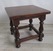 Tavolino basso da salotto in faggio anni 80  ottime condizioni - sgabello panca