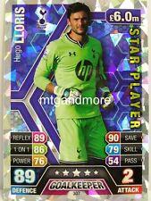 Match Attax 2013/14 Premier League - #307 Hugo Lloris - Star Player