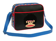 PAUL FRANK - BASKETBALL CABIN/SCHOOL/COLLEGE/SPORTS SHOULDER BAG - BLUE/BLACK