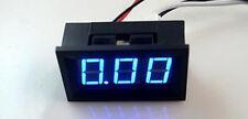 New  Blue LED Digital AMP mini  Panel Meter DC 0-9.99A 1 pcs