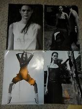 Mini Anden SET OF 51 European MAGAZINE CLIPPINGS 1998-'02 Victoria's Secret Babe