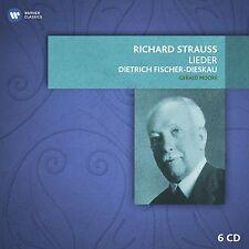 Fischer-Dieskau/Moore-richard strauss-CHANSONS (BOX-set) 6 CD NEUF