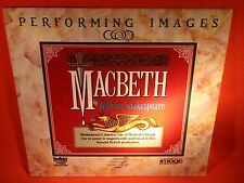 "LASERDISC  ""g""  * MACBETH *  PERFORMING IMAGES Extended Play"