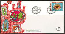 Nederland fdc  642 persoonlijk decemberzegel  2011   fdc onbeschreven