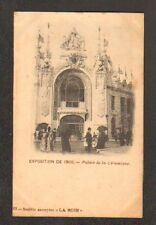 PARIS Exposition 1900 : PALAIS DE LA CERAMIQUE trés animé