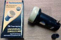 TECHNOMATE TM-1 GOLD SUPER HIGH 0.1dB SINGLE UNIVERSAL LNB - FAST DISPATCH